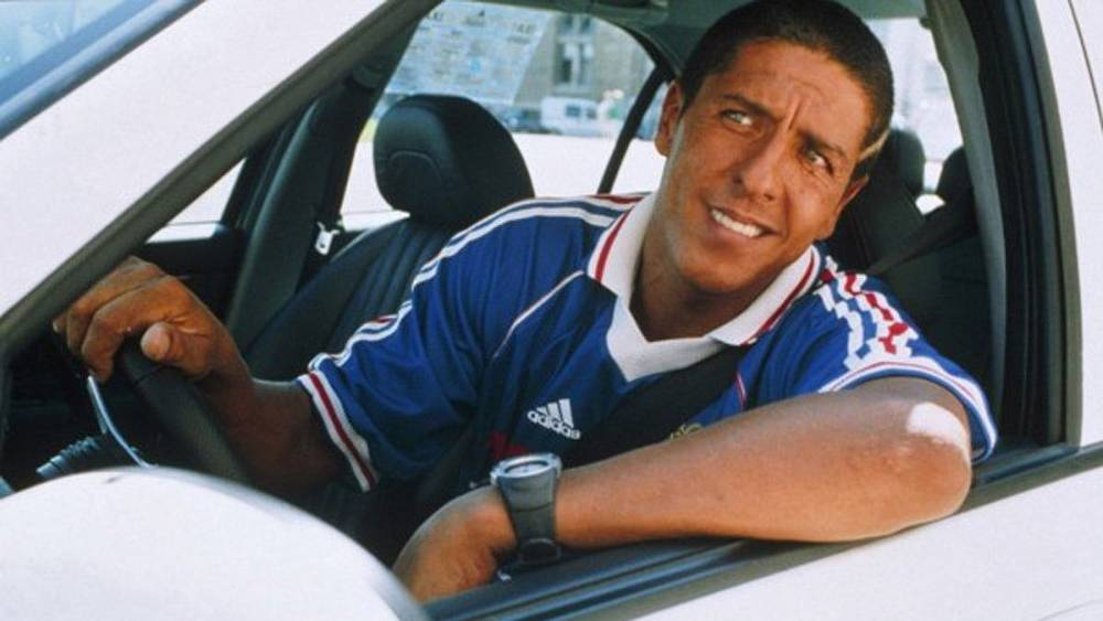 "Сами Насери в роли таксиста. ""Такси"" 1998 г."