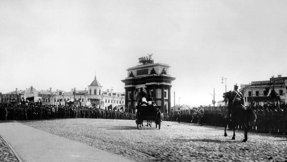 1912 год. На Тверской заставе