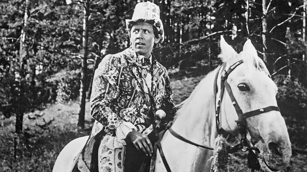 "Кадр из фильма-сказки ""Царевич Проша"", 1974 год"