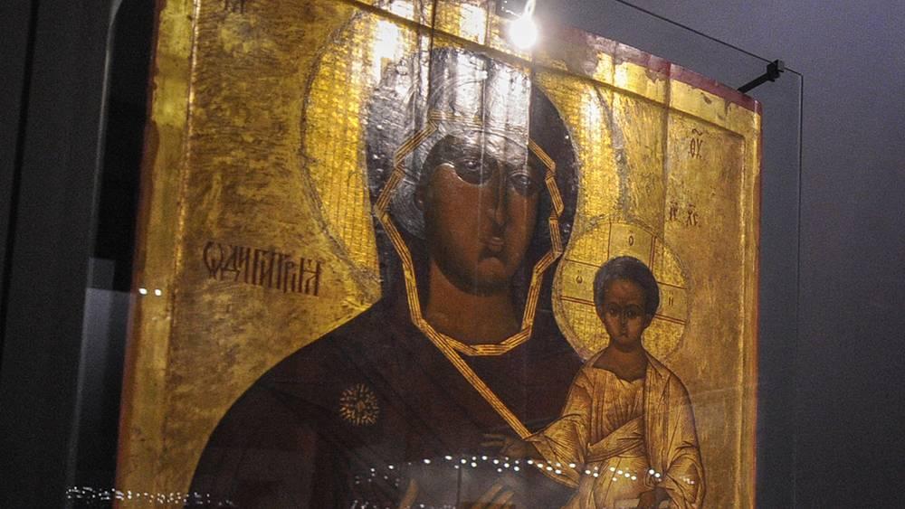 Смоленская икона Божьей Матери (XIX век)