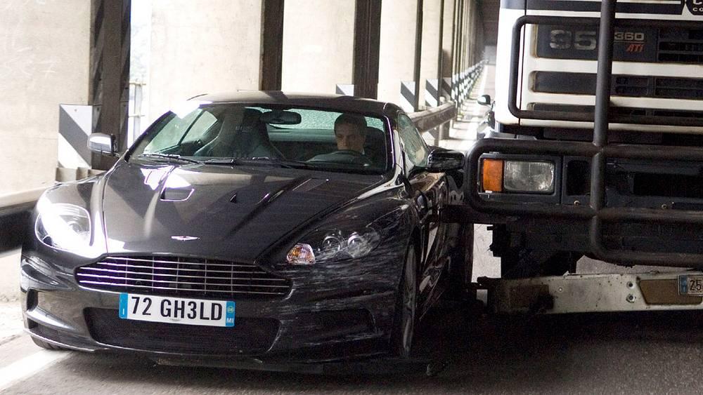 """Aston Martin DBS 2006 года. Съемки фильма """"Квант милосердия"""""""