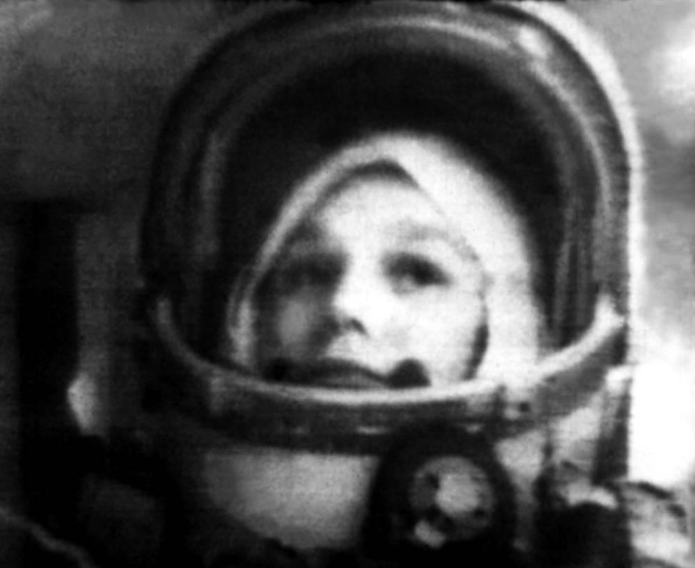 """Снимок получен ЦТ из космоса с борта корабля """"Восток-6"""". 1963 год"""