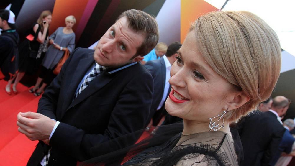 Режиссер Резо Гигинешвили и актриса Надежда Михалкова