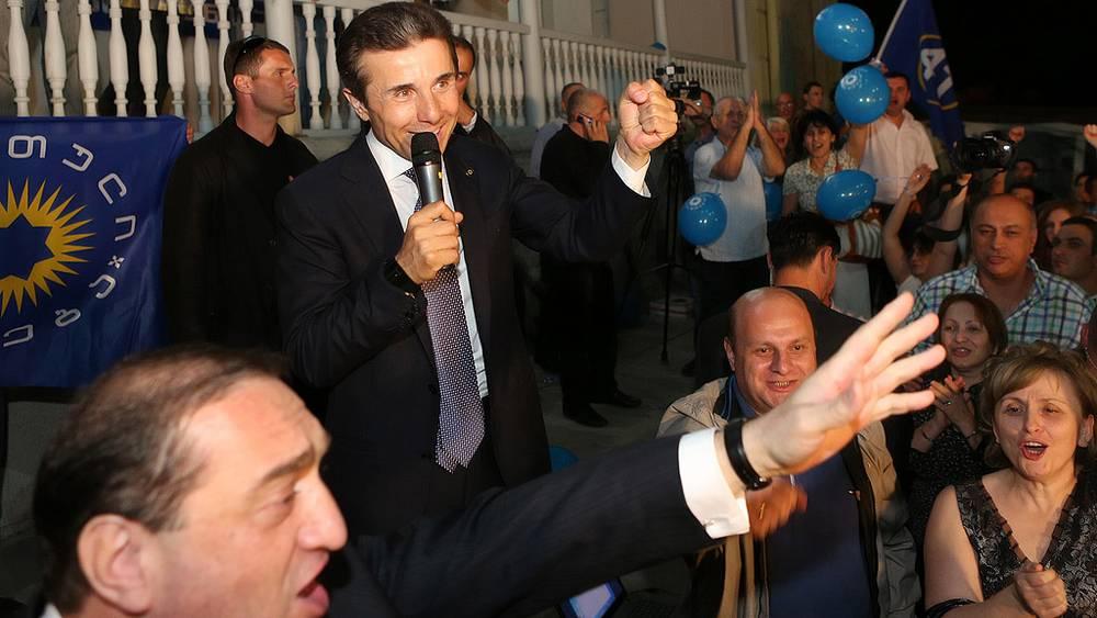 Оппозиционер Б.Иванишвили