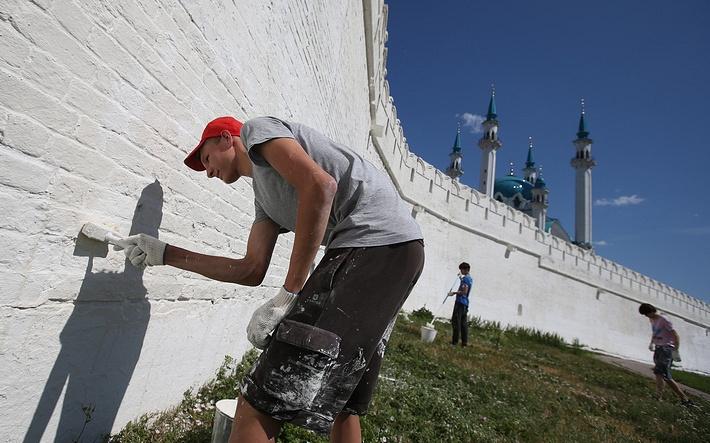 Президент Татарстана Рустам Минниханов отметил, что за пять лет подготовки к Универсиаде в Казани город стал совершенно другим