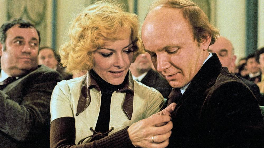Эльдар Рязанов, Барбара Брыльска и Андрей Мягков. 1978 год
