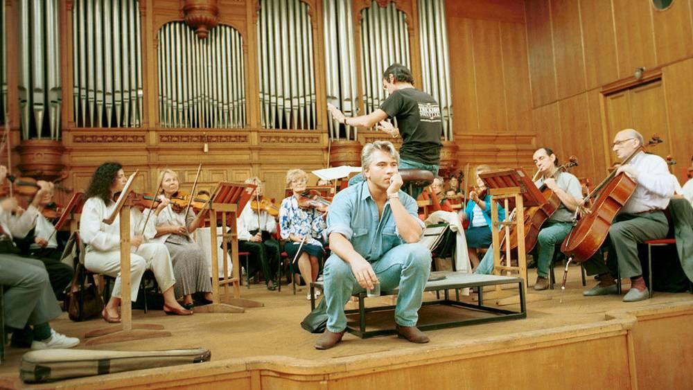 Во время репетиции, 1994 год