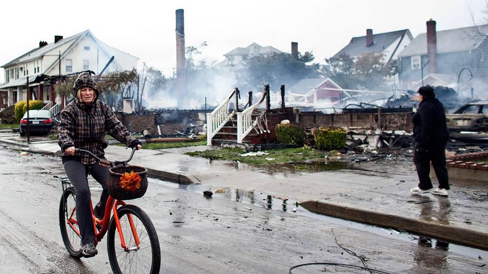 Нью-Йорк, последствия пожаров