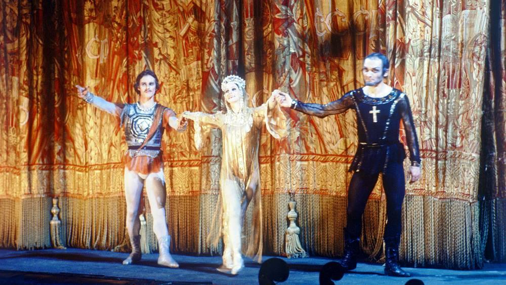 После спектакля. 1982 год