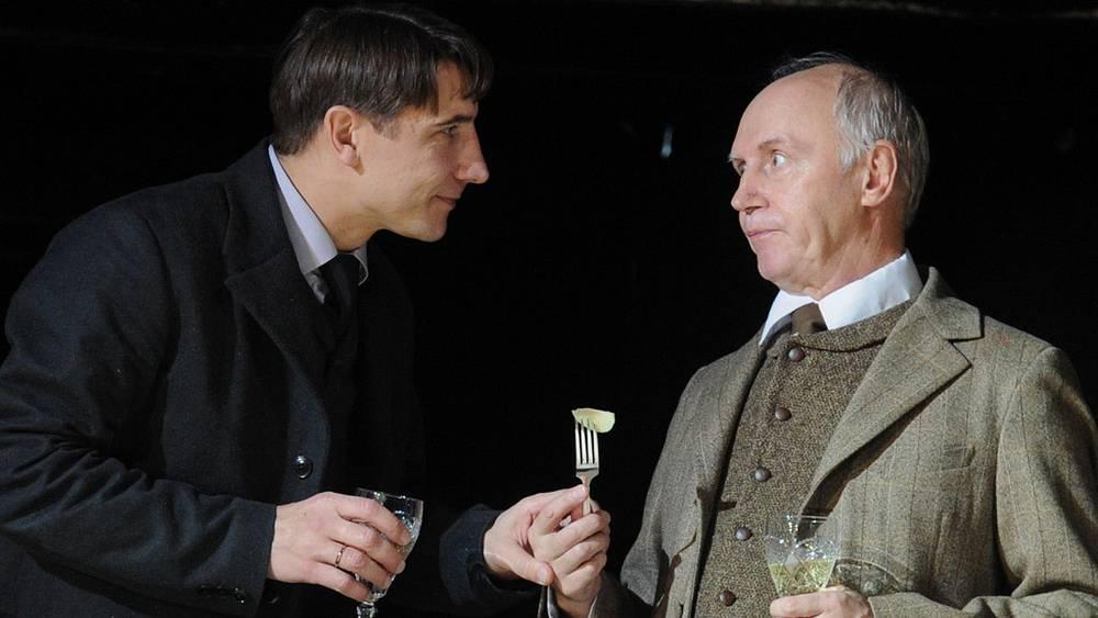 Сергей Угрюмов (Павел Асорин) и Борис Плотников (Иван Брагин)