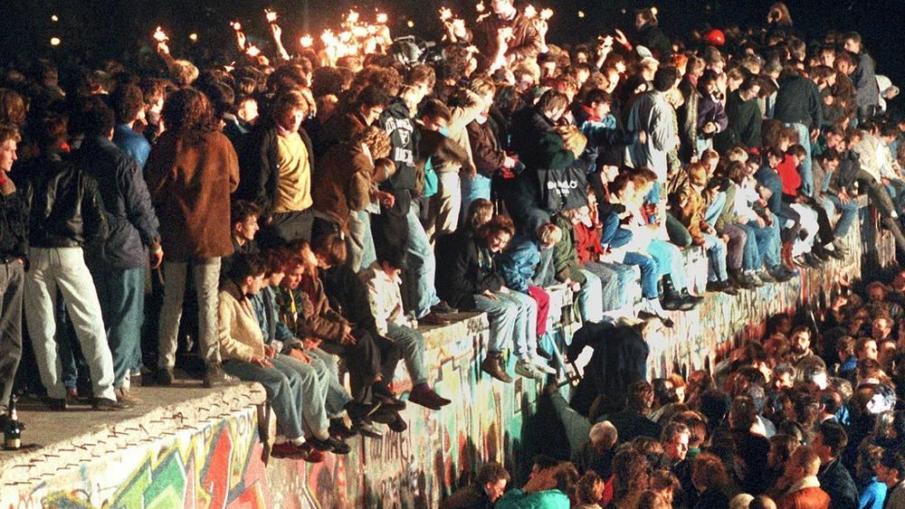 После падения Берлинской стены, 1989 год