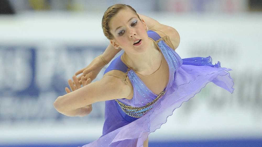 Российская фигуристка Полина Коробейникова