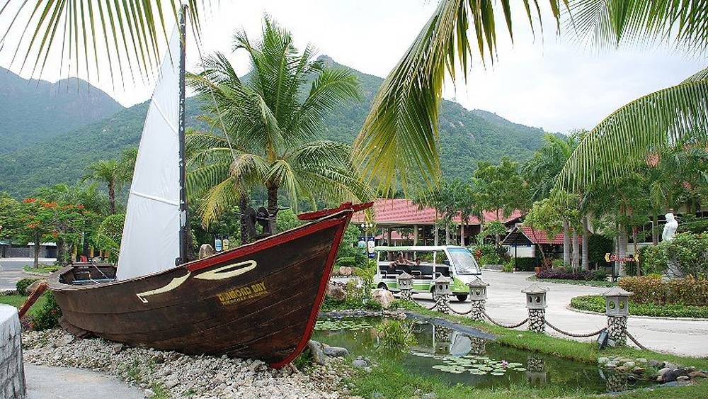 Старый барк вьетнамского рыбака