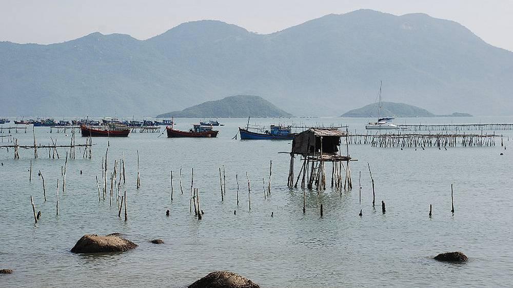Плантация рыбоводов Вьетнама