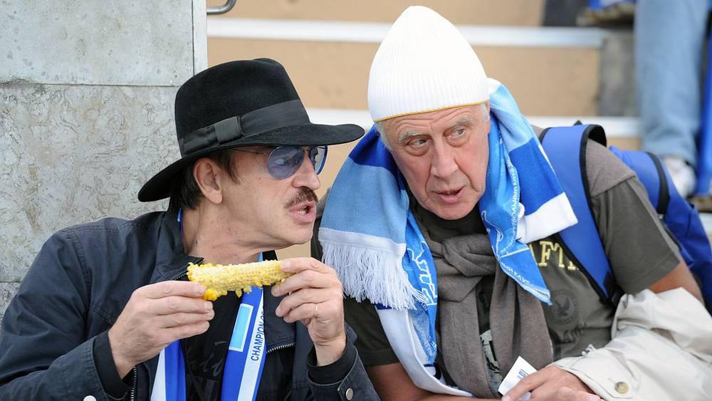 Актеры Михаил Боярский и Сергей Мигицко. Фото ИТАР-ТАСС/ Руслан Шамуков