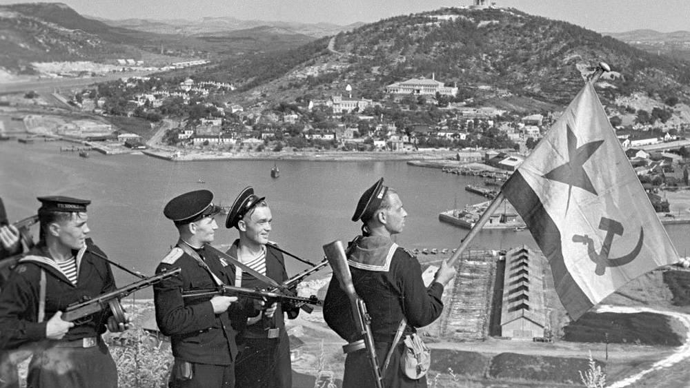 Порт-Артур. 1945. Фото Евгений Халдей