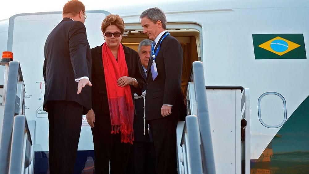 Президент Бразилии Дилма Роуссефф. Фото EPA/ALEXANDER VILF / POOL