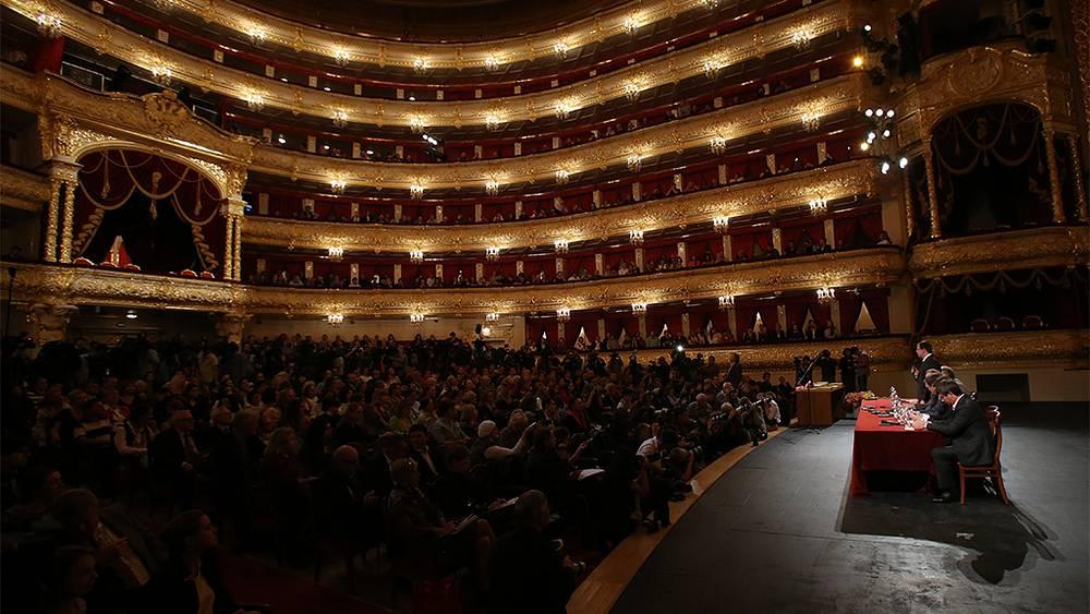 Открытие 238-го театрального сезона в Большом театре. Фото ИТАР-ТАСС/ Вячеслав Прокофьев