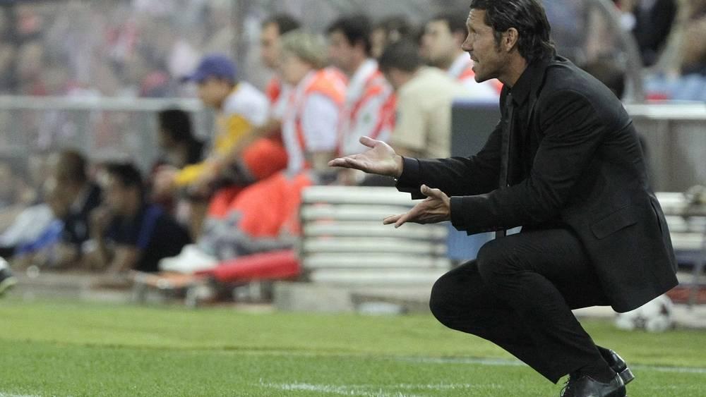 Диего Симеоне. Фото EPA/Kiko Huesca
