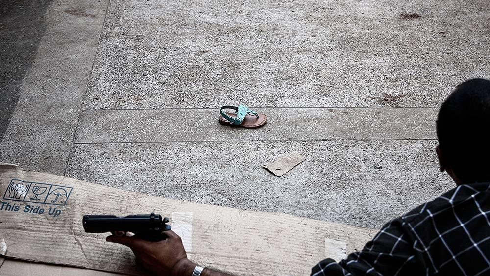 """Спасение заложников из торгового центра """"Уэстгейт"""". Фото EPA/KABIR DHANJI"""