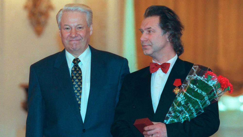 Б.Ельцин и А.Шилов. 1997. Фото ИТАР-ТАСС/Александр Чумичев