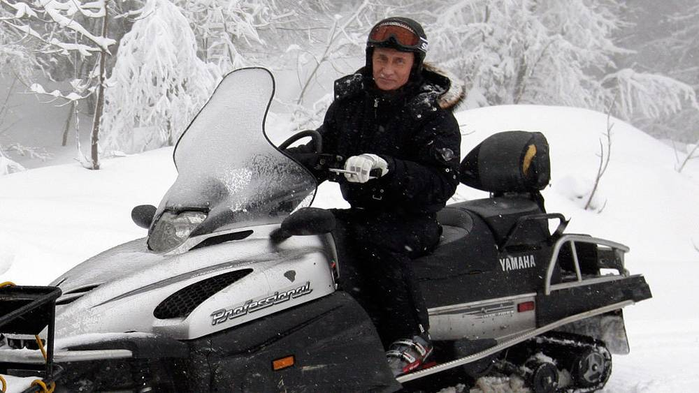 На горнолыжном курорте «Красная поляна». Фото ИТАР-ТАСС/ Дмитрий Астахов