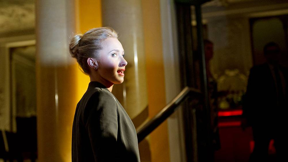 """Актриса Хейден Панеттьер на презентации телесериала """"Нэшвилл"""" в Мюнхене. Фото EPA/INGA KJER"""
