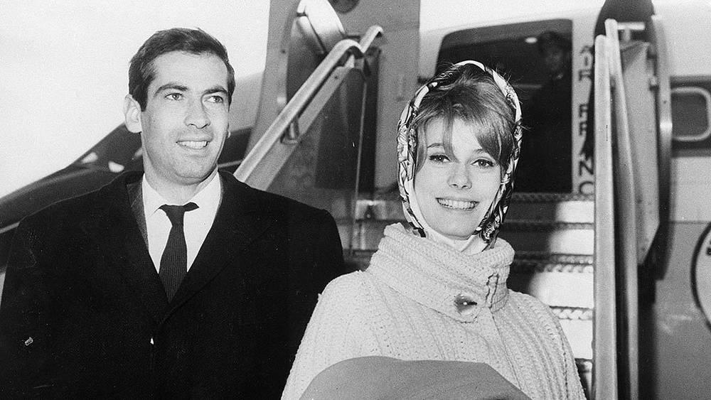 Катрин Денев с режиссером Роже Вадимом, 1961 г. Фото AP