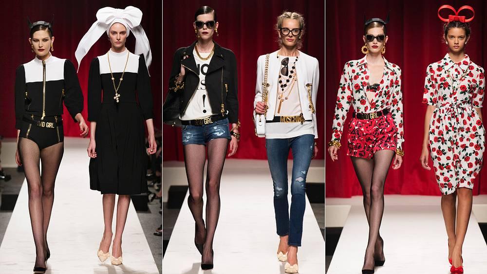Модели от Москино. Фото BOSCO.RU