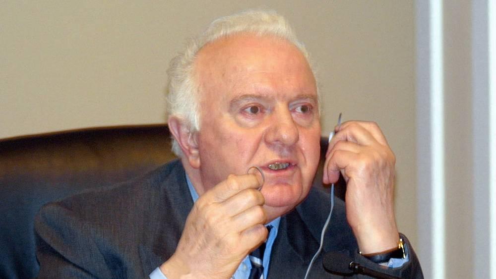 Президент Грузии Эдуард Шеварднадзе. 2002 год. Фото ИТАР-ТАСС/ Бессарион Кезерашвили