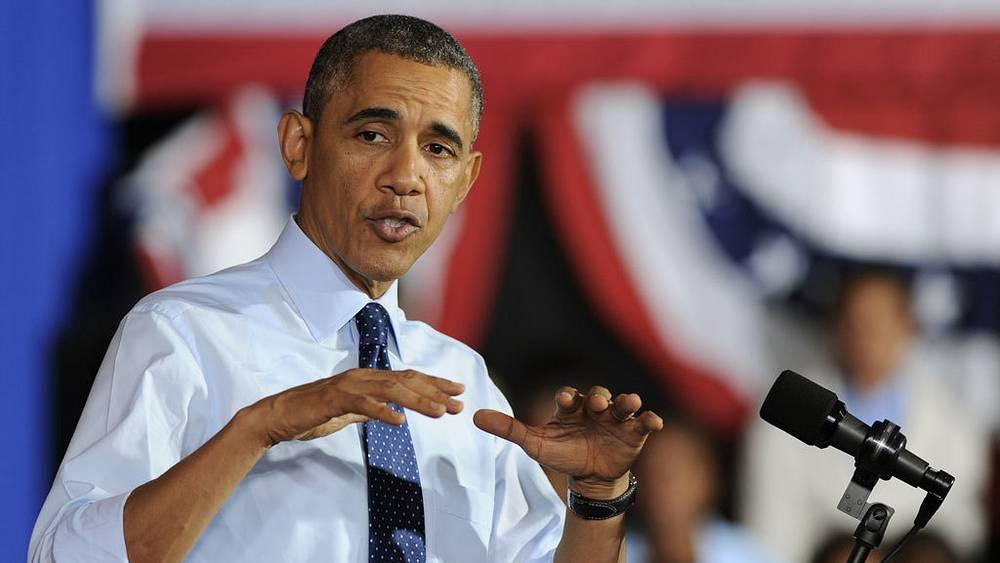 Барак Обама. Фото EPA/PETER FOLEY
