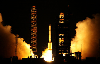 Proton-M launch at Baikonur (archive)