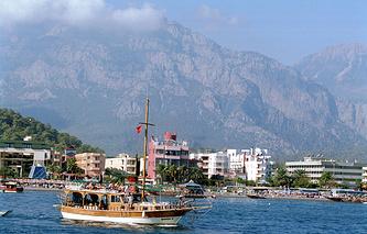Turkish resort of Kemer