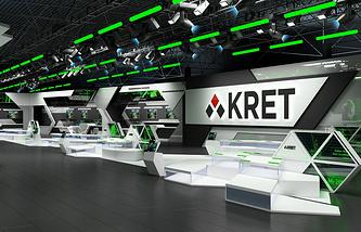 Павильон КРЭТ на выставке «Оборонэкспо-2014» в Жуковском