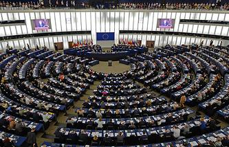 Заседание Европарламента по вопросам Украины
