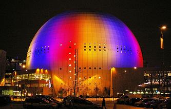 Арена Глобен в Стокгольме
