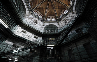 Россия, Санкт-Петербург. Внутри следственного изолятора №1(Кресты)