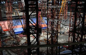"Строительство стадиона ""Зенит Арена"""