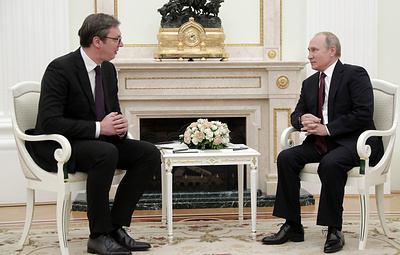 Putin to discuss bilateral relations, Kosovo, Turkish Stream with Serbian president