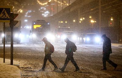 МЧС Подмосковья предупреждает возможных ЧС из-за ожидающегося снегопада