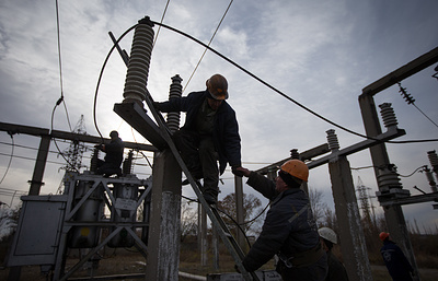 Энергоснабжение в Подмосковье восстановлено по резервной схеме
