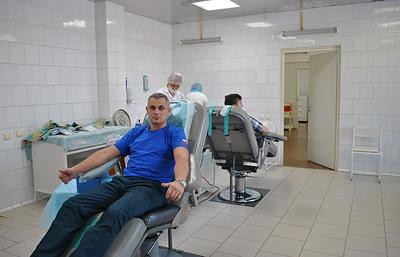 Сотрудники МЧС в Ханты-Мансийском автономном округе стали донорами крови