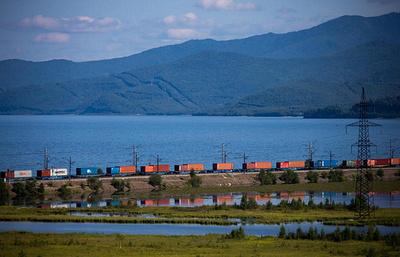 СМИ: Китай отправил первый контейнерный поезд в Россию по новому маршруту