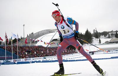 Российские биатлонисты выиграли бронзу в эстафете на этапе КМ