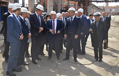 """""""Электроцинк"""" направит 400 млн руб. на улучшение санитарного благополучия Владикавказа"""