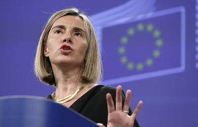 СМИ: Могерини не видит в России угрозы для ЕС