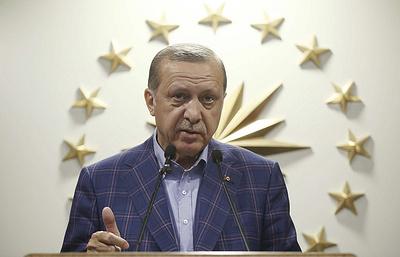 Эрдоган: Турция пересмотрит свою позицию по стремлению к членству в ЕС