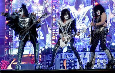 Группа Kiss даст концерт в Москве