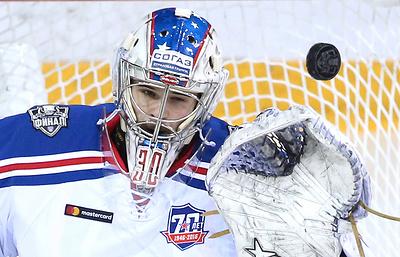 Вратарь Шестеркин вызван в сборную России по хоккею