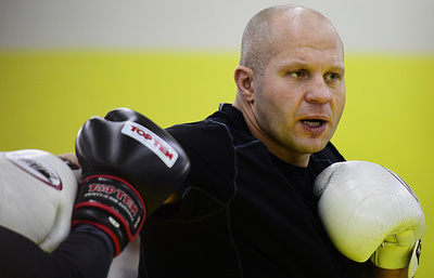 Тренер: Федор Емельяненко прибавляет в кондициях перед боем с Митрионом